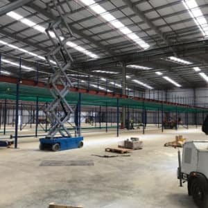 Large Mezzanine Floor For New Distribution Centre